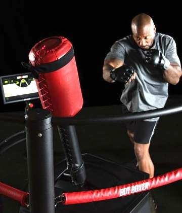 The BotBoxer - a Revolutionary Combat Sport Device