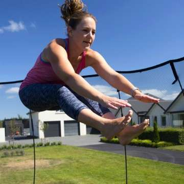 Springfree Trampolines Bring Smart Exercise to Your Backyard