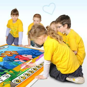 Magic Box Interactive Floor Introduces Preschoolers to Educational Games